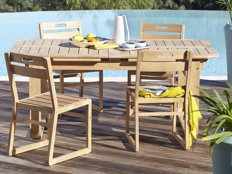 Table Niagara Leroy Merlin | Salon De Jardin Naterial