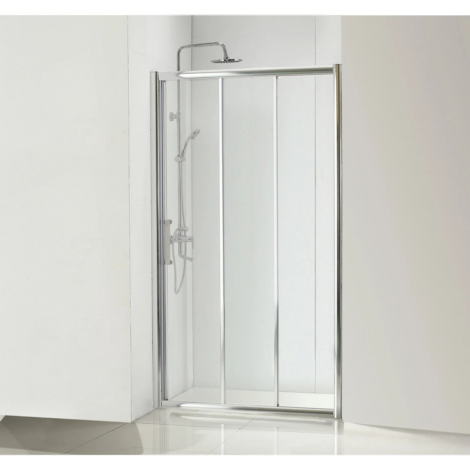 Porte Coulissante Magasin Porte De Douche Coulissante 90 Cm Transparent Quad