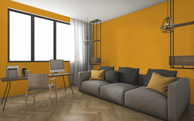 Salon Orange Et Gris Dco Orange Et Gris Dco Orange Et Gris Idee Deco Chambre  Ado