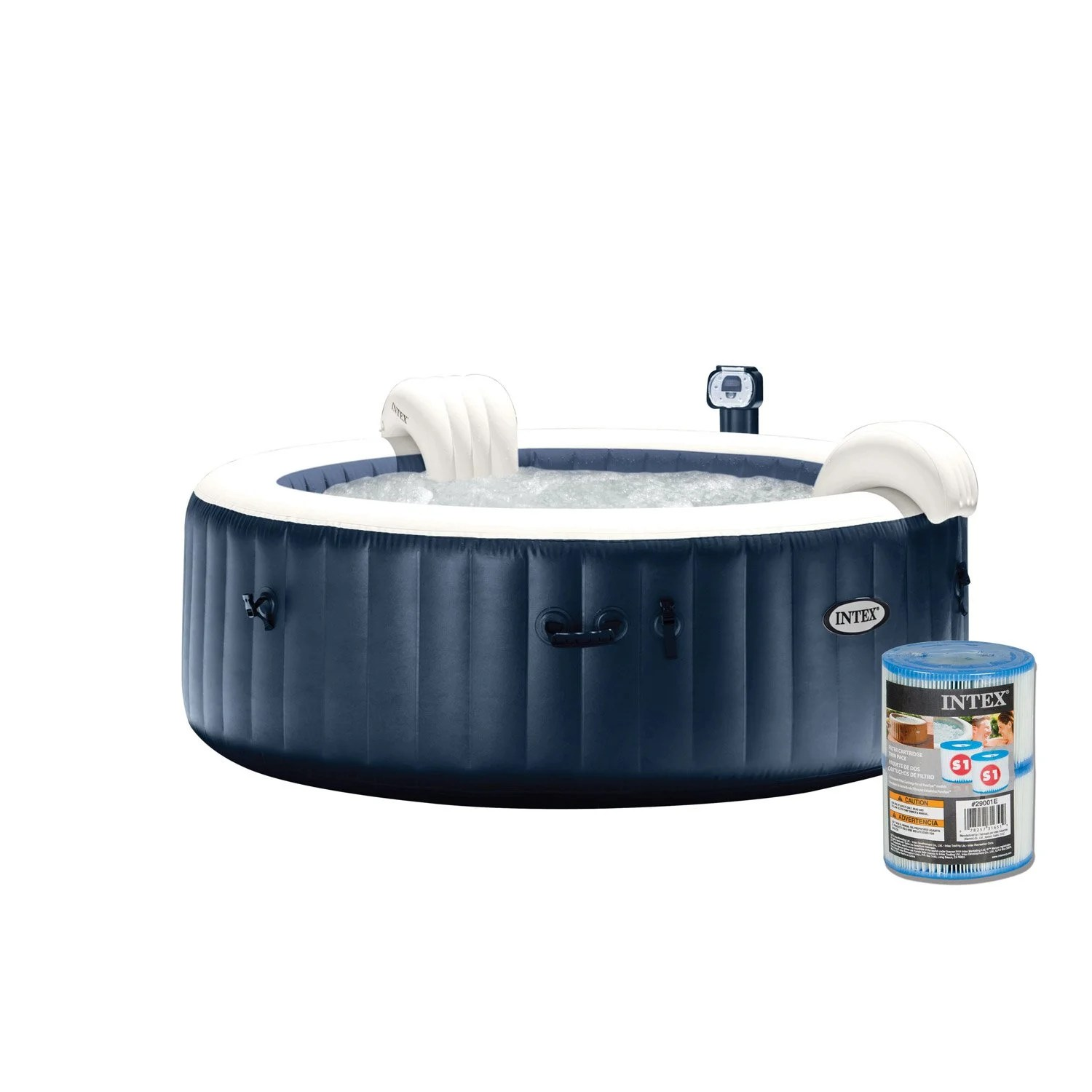 Spa Jacuzzi Exterieur Intex Habillage Spa Gonflable Intex Stunning Jacuzzi Exterieur