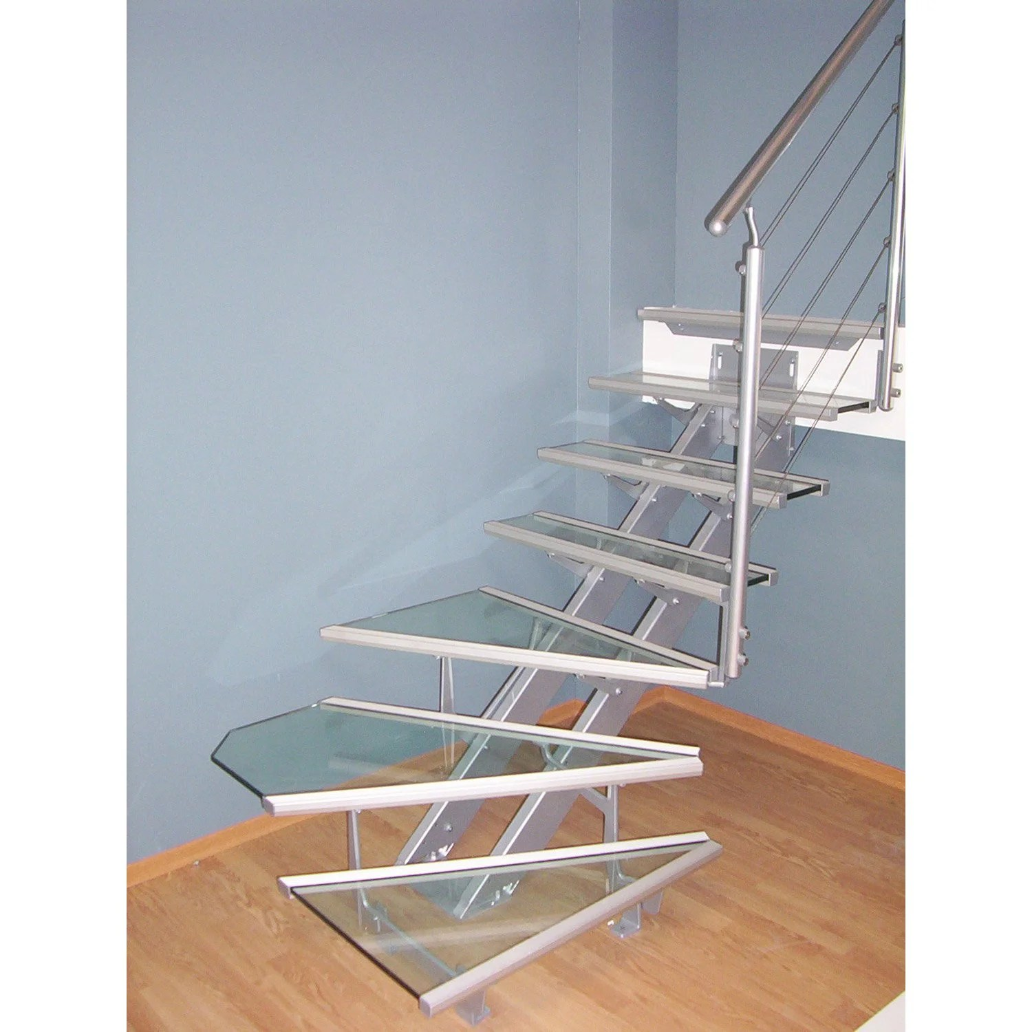 Escalier Quart Tournant Castorama Great Escalier Quart Tournant Escatwin Structure Aluminium
