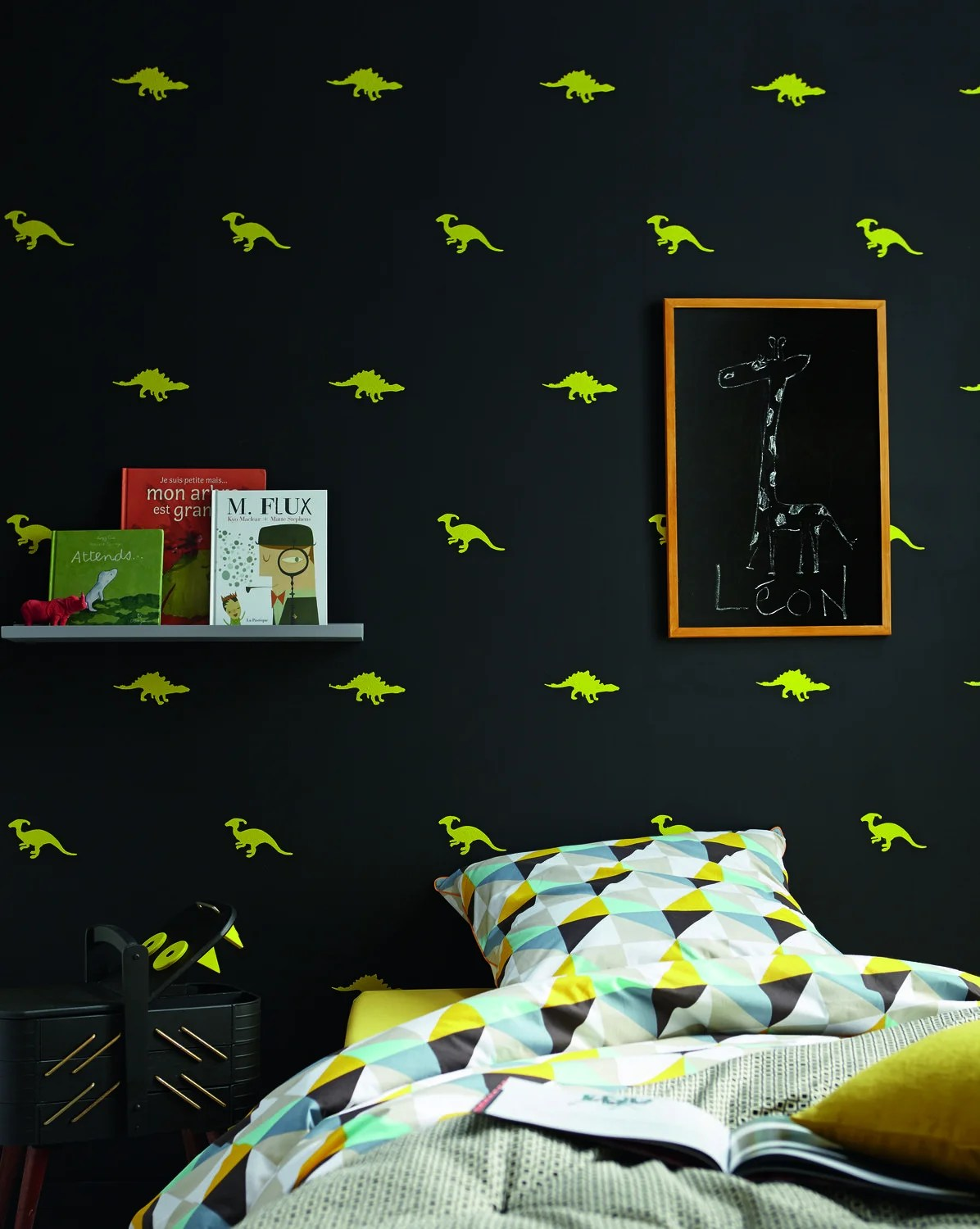 Chambre Dinosaure Pochoirs Dinosaures Pour Une Chambre Pep S Leroy Merlin