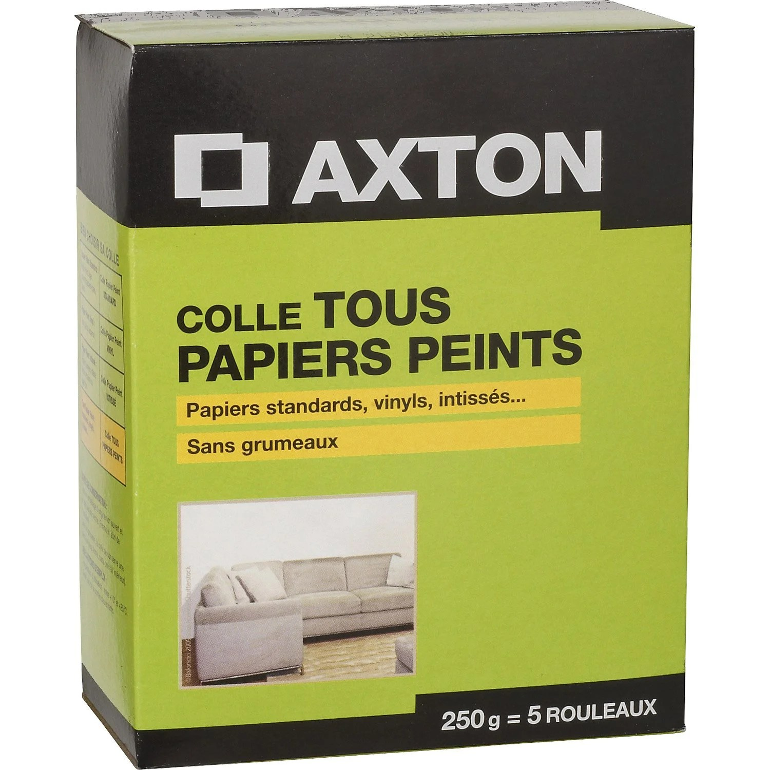 Pate Thermique Leroy Merlin Interesting Colle Tous Papiers Peints Axton Kg With Pose