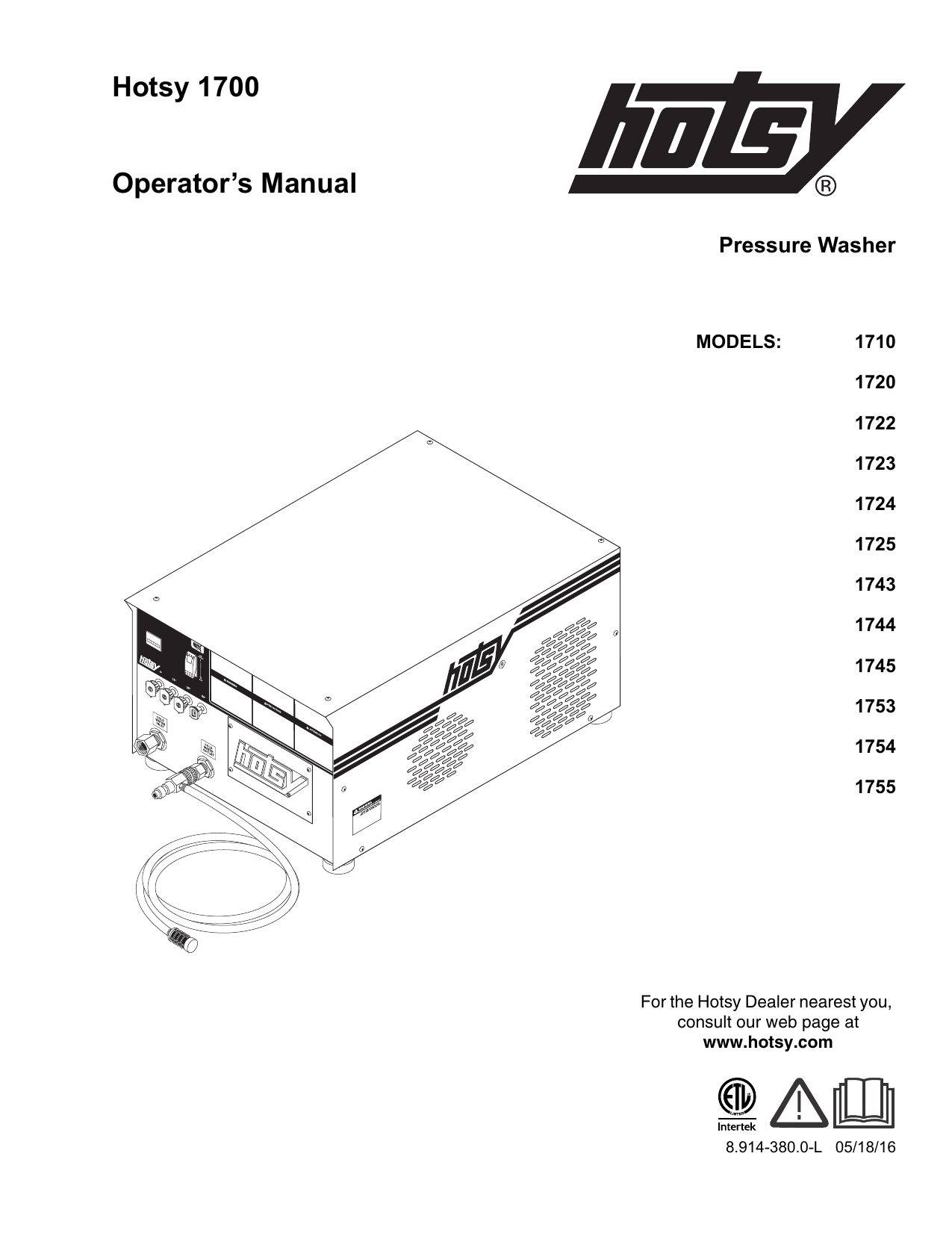 hotsy pressure washer electrical diagram