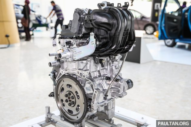 Perodua Bezza engines \u2013 10 litre 1KR-VE VVT-i, new 13 litre 1NR-VE