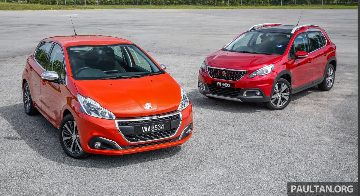 Peugeot 2008 Automatic Review First Drive Peugeot 208 And 2008 1 2l Puretech Review In Malaysia