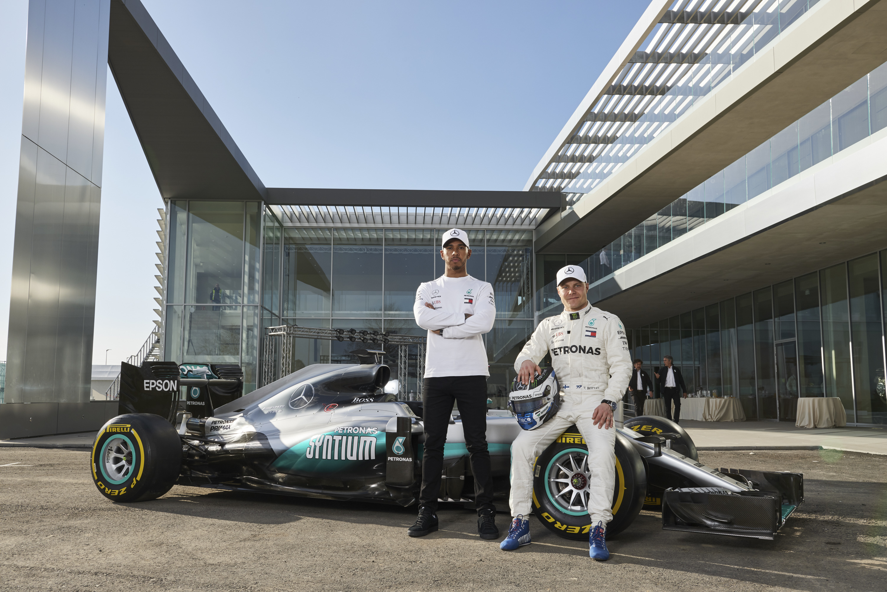 Merc London Italia Petronas Opens New Global R Andt Centre In Turin Italy