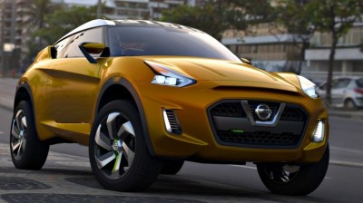 Nissan Extrem Concept - if the GT-R was a baby SUV