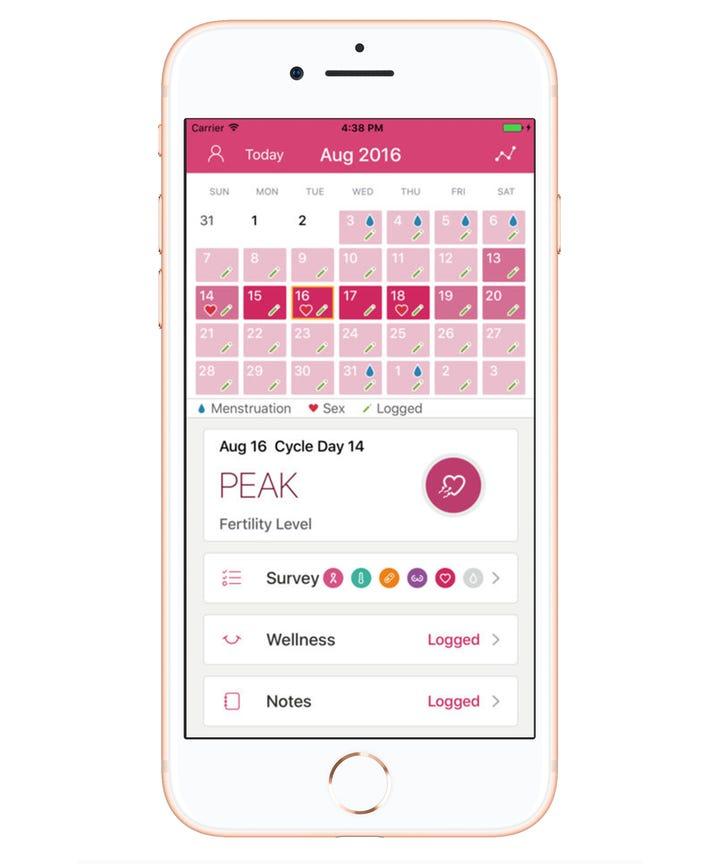 Best Period Tracker App - Menstruation Calendar - vacation tracker app