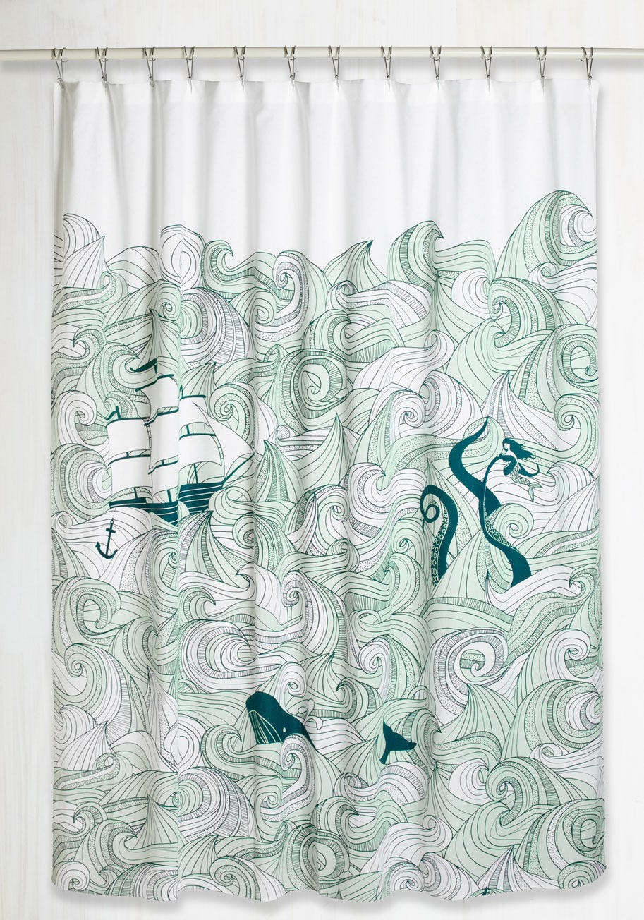 Ariel Shower Curtain Cute Target Shower Curtains Budget Bathroom Makeover