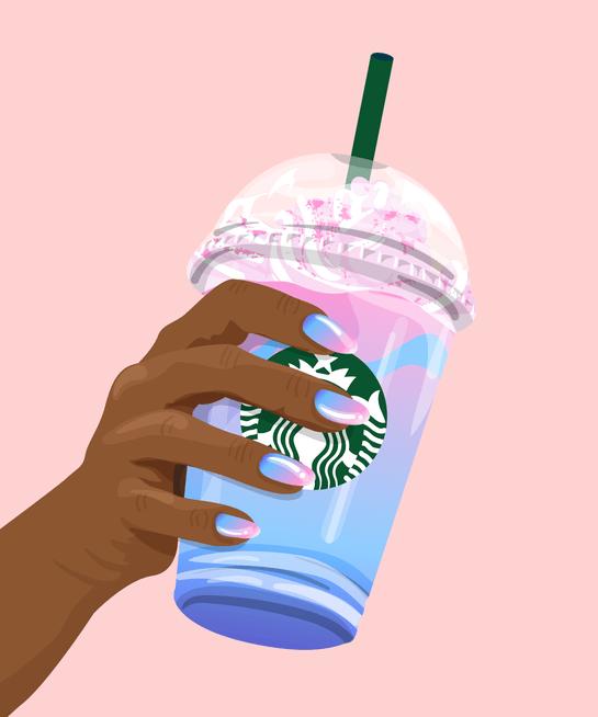 Starbucks Wallpaper Cute How To Make Starbucks Unicorn Frappuccino Diy Recipe
