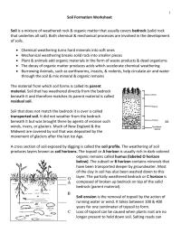 worksheet. Soil Worksheets. Grass Fedjp Worksheet Study Site
