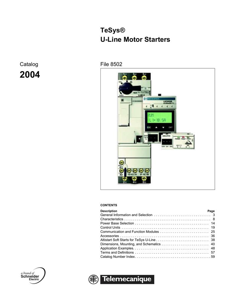 tesys d line wiring diagram