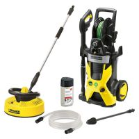 Karcher Eco Pressure Washer with T300 Patio Cleaner   IWOOT