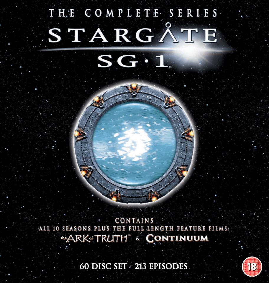 Cheap 3d Wallpaper Uk Stargate Sg1 The Complete Megapack Dvd Zavvi