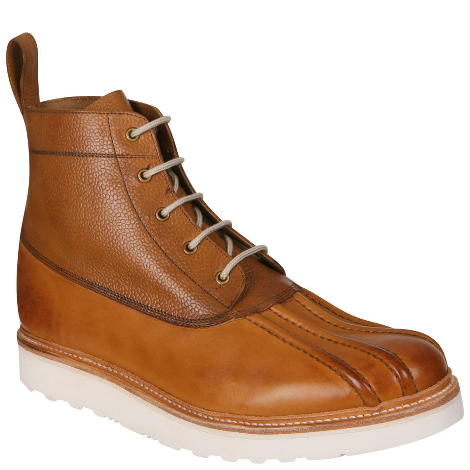 Grenson Men39s Spike V Duck Boots Tan Free Uk Delivery
