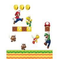 New Super Mario Bros. Wall Stickers   Nintendo UK Store