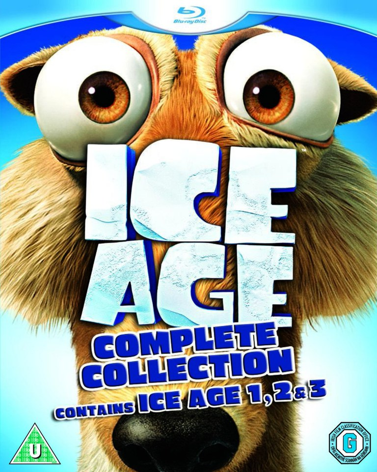 Ice Age Trilogy Blu Ray Zavvicom