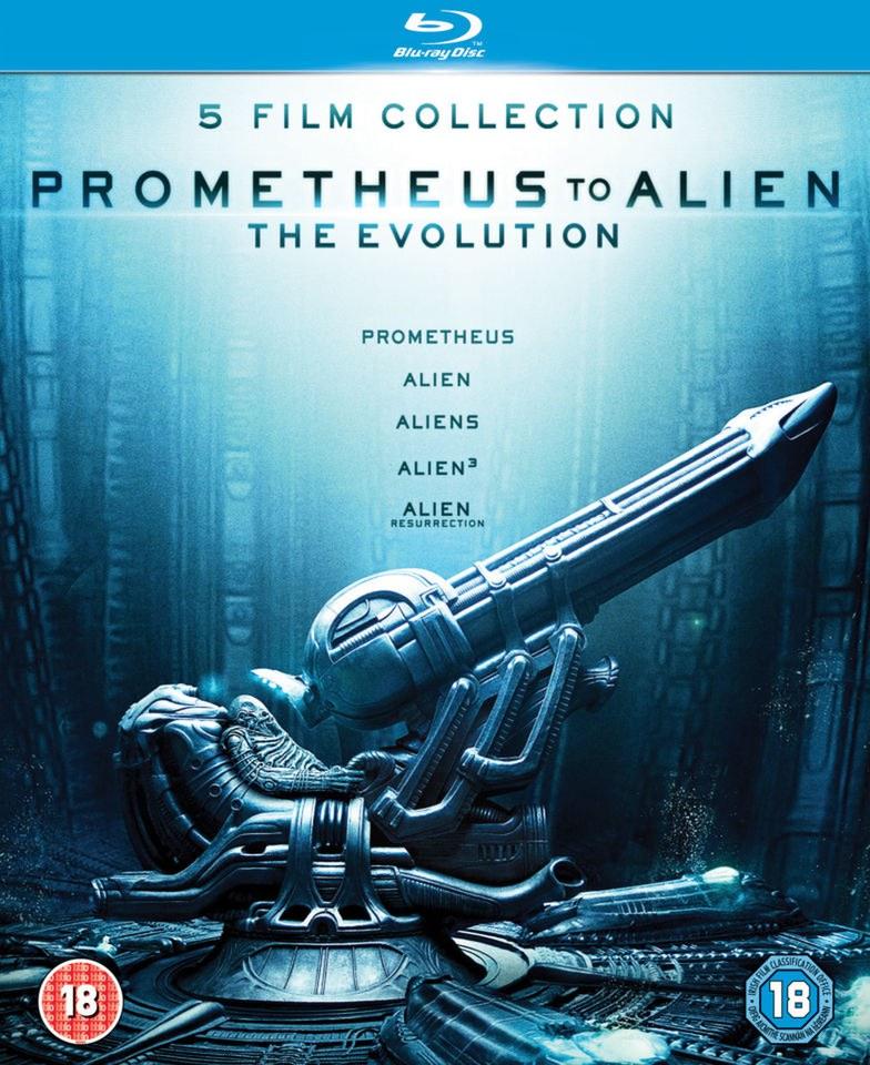 3d Vinyl Records Wallpaper Prometheus To Alien The Evolution Box Set Blu Ray Zavvi