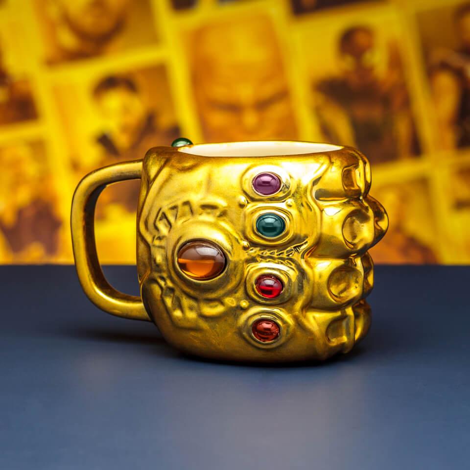 Lego Star Wars Wallpaper Hd Marvel Avengers Infinity War Gauntlet Shaped Mug Gifts Zavvi