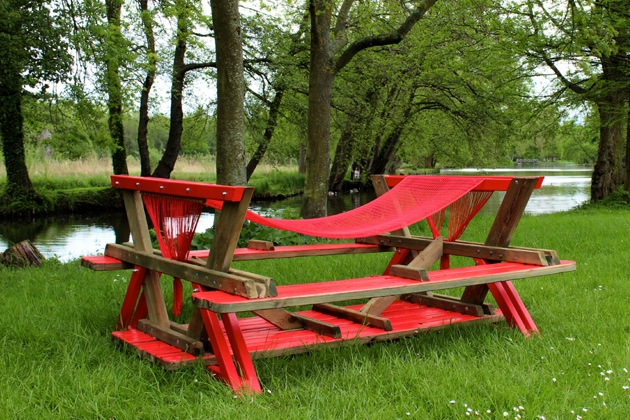Diy Picnic Table Hammock