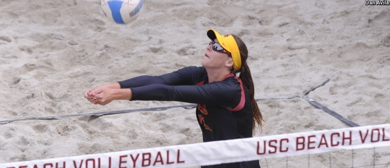 1 USC Sweeps Cal 5-0 in Lone NCAA Match on Tuesday (3/28)