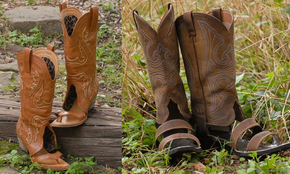 Cowboy Boot Sandals Are Now A Thing Cowgirl Magazine