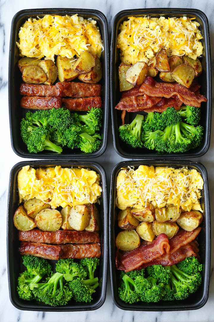 Breakfast Meal Prep - Damn Delicious