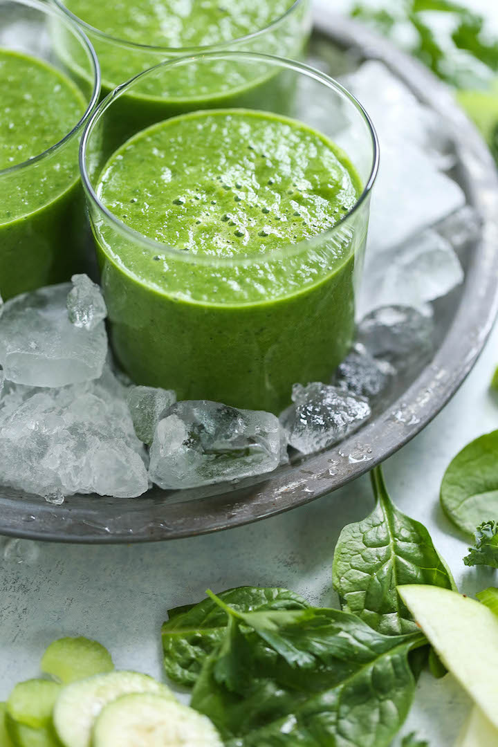 Green Detox Smoothie Damn Delicious - Detox Smoothie