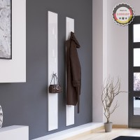 Wall panel hinged hook coat rack hook rail wall coat rack
