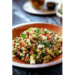 Pleasing Breakfast Barley Salad Shopped Feta Barley Salad Recipe Culinaria How To Cook Pearl Barley On Stove How To Cook Pearl Barley A Wooden Bowl nice food How To Cook Pearl Barley