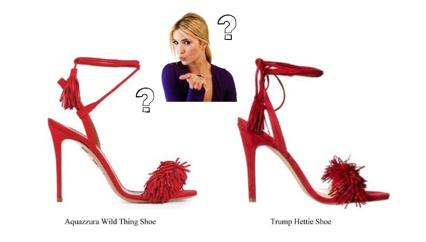 Exclusive Ivanka Trump Denies Copying Italian Designer39s