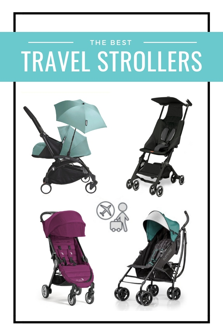 Lightweight Folding Pram 7 Best Compact Stroller For Travel Picks Airplane Stroller