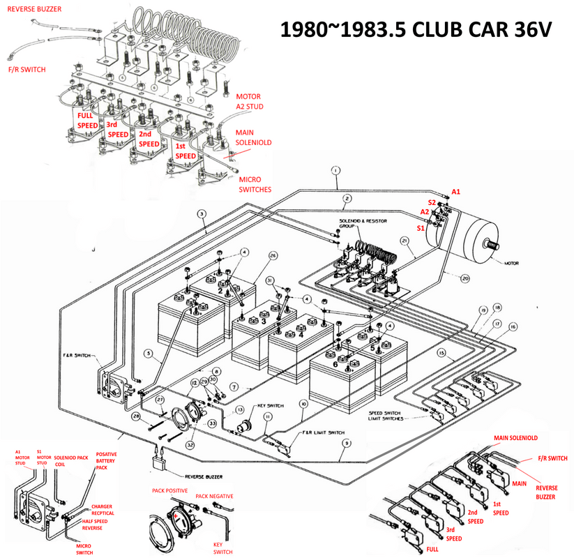 club car wiring diagram 01