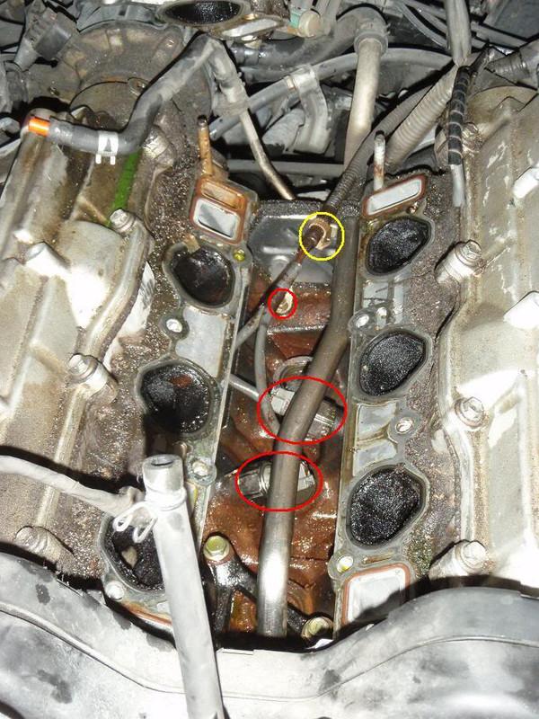 Diagnosing and replacing knock sensors on the 3VZ-FE V6 - Toyota