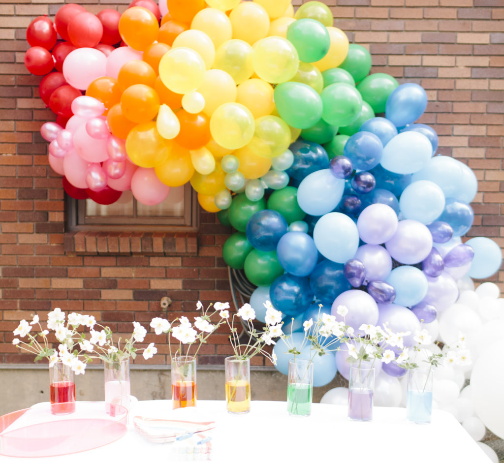 Birthday Party Diy Balloon Arch