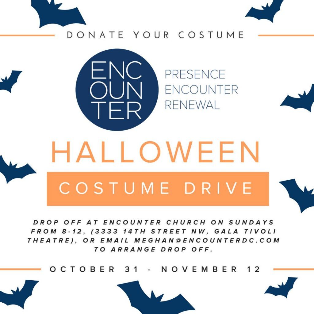 Encounter Church Is Hosting A Halloween Costume Drive For Next Fall