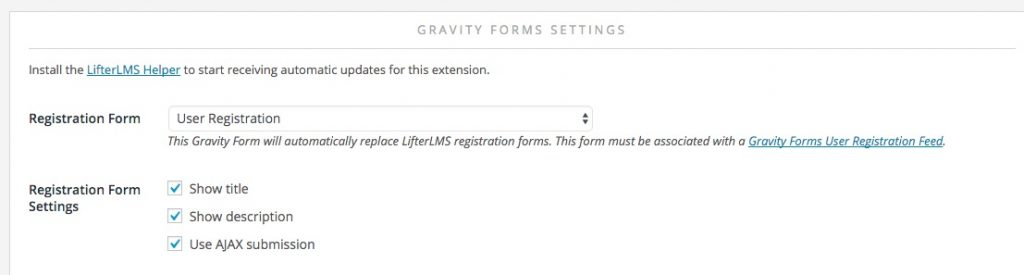 Custom Registration and Account Edit Forms - LifterLMS - registration forms