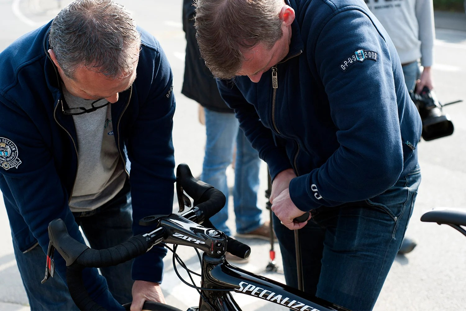 Point P Roubaix Gallery Ride Along With Omega Pharma S Final Paris Roubaix Recon