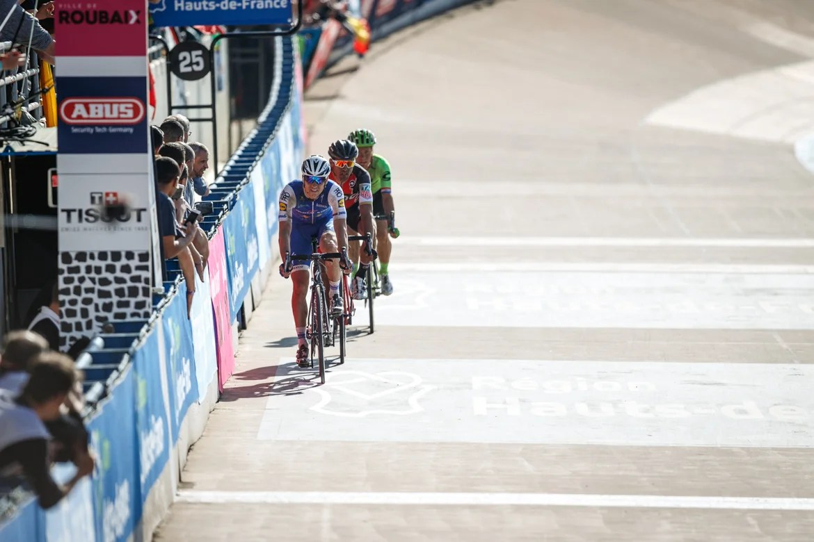 Point P Roubaix The Shot Van Avermaet Conquers Roubaix Velonews