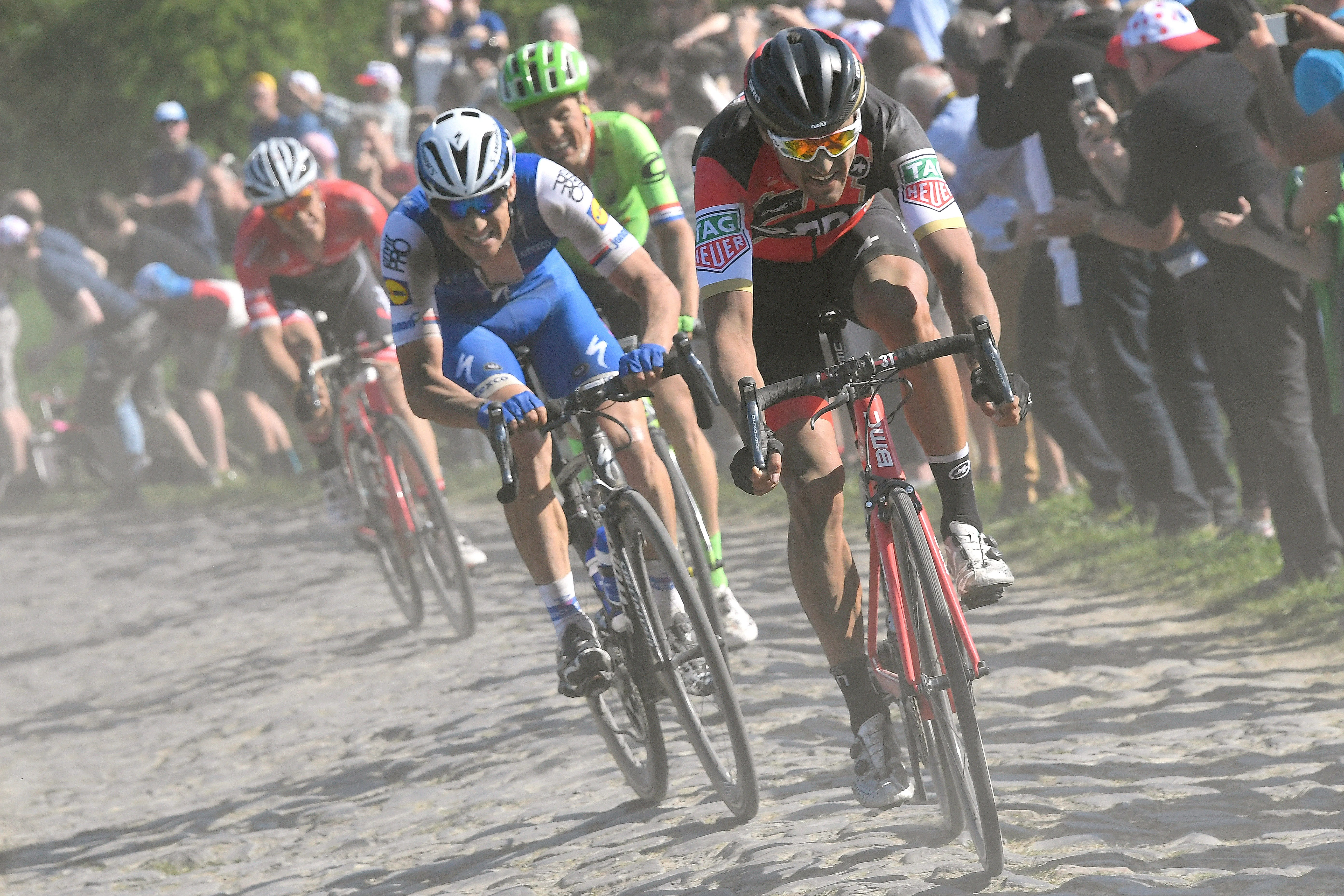Point P Roubaix Flanders Vs Roubaix What Do The Riders Think Velonews