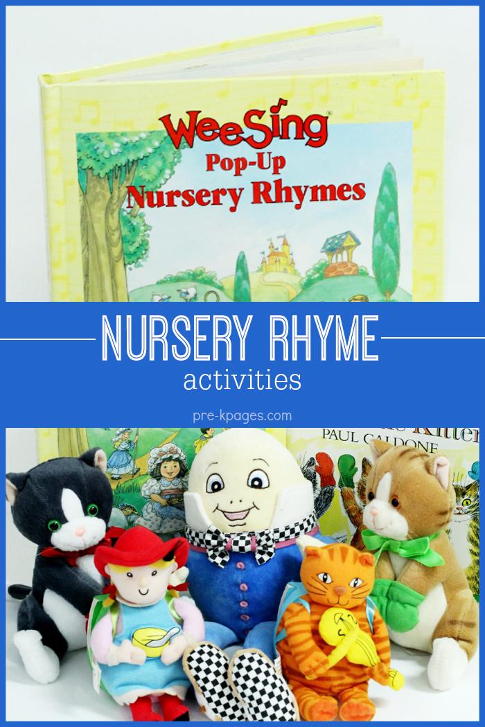 Nursery Rhyme Activities for Preschool