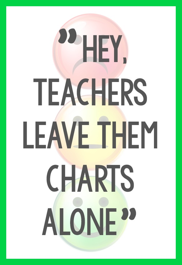 Behavior Charts for Preschool Pre-K Kindergarten