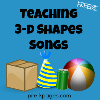 Teaching 3D Shapes