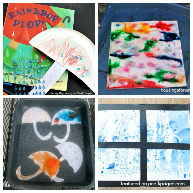 Rain Activities for Preschoolers - Pre-K Pages