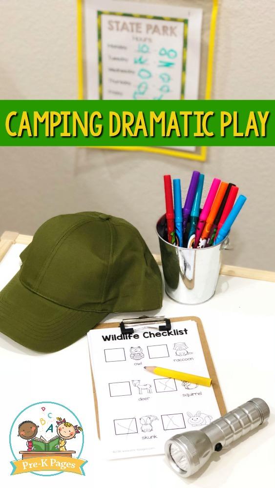 Camping Dramatic Play Theme