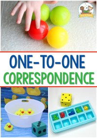 Pre-K Math: One-to-One Correspondence Activities for Preschool