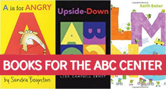 Alphabet Books for Preschool - Pre-K Pages