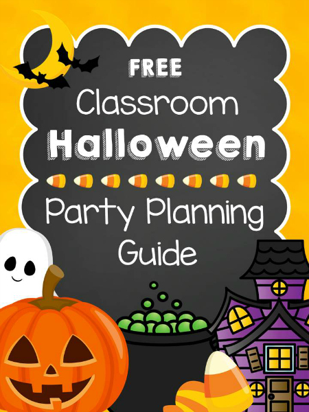 Halloween Classroom Party Planning Guide - Pre-K Pages