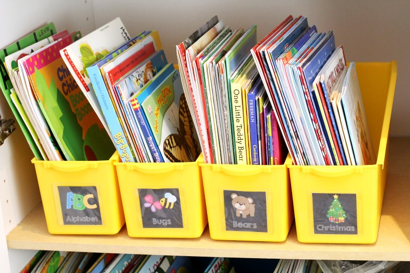 Printable Book Box Labels Classroom Library